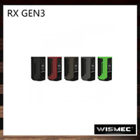 Wholesale Wholesale Oled - Wismec Reuleaux RX GEN3 Box Mod With 1.3-Inch OLED Display 300W TC Mode Flip Open Battery Cover Firmware Upgradeable by JayBo 100% Original