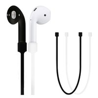 Wholesale Loop Device - Anti Lost Rope Cable Cord Accessories For Apple Airpods Headset Earphone Gel Device Strap Loop String Rope With Retail Package