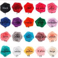 3d blumenmaterial großhandel-Rosen-Knospe-Großhandelskleidungs-Zubehör-3D Rosenknospe-einzelner Blumen-Kopf-Ausgangsdekoratives Material YH674