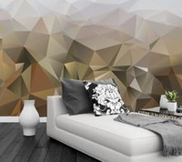 Wholesale texture wall paper roll - Wholesale-Custom Texture Abstraction mural wallpaper 3d, living room tv sofa wall bedroom 3d stereoscopic wallpaper papel de parede