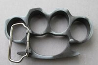 Wholesale Self defense QTY1 Entertain wild hope BRASS KNUCKLE DUSTERS