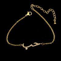 Wholesale Men Halloween Customs - Wholesale 10Pcs lot 2017 Hot Sale Snap Jewelry Bracelets Crystal CZ Arabic Women Love Bracelet Fashion Custom Gold Bracelets For Men
