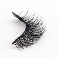 Wholesale Fine Hair Extensions - Fine 1 Pair of y ink False Eyelashes 100% Hand-Long ultra-Long-Term Eye for Makeup Extension Makeup Tools
