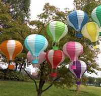"Wholesale Wishing Balloon For Wedding - 35 CM 14"" Multicolor Hot Air Balloon Paper Lantern Wishing Lanterns for Birthday Wedding Party Decor Gift 20 pcs lot"