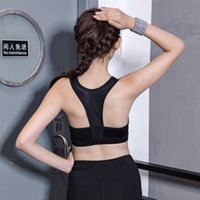 Racerback Workout Mesh Sport-BH Laufende Frauen Nahtlose Drahtlose Push Up Bh Yoga Crop Top Gym Fitness Frauen Sport Gepolsterte Bh Frauen Tank