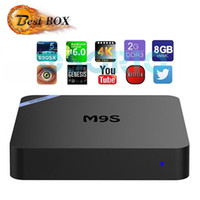 2017 M9S PRO 2g ram 8g rom amlogic s905x quad core cpu android 6.0 OS kd 16,1 vorinstalliert Mini M9SPRO andriod tv box MINI PC