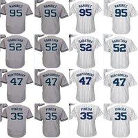 Wholesale 95 suzuki - 2017 New York 47 Jordan Montgomery 35 Michael Pineda 95 Yefry Ramirez 52 CC Sabathia Mens Womens Kids Cool Flex Baseball Jerseys Grey