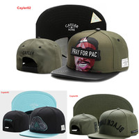Wholesale Wholesale Strapback Cheap - Fashion Designer Cayler & Sons Hats Top Cotton Adjustable Sun Caps Men And Women Summer Cap Strapback New Arrival Cheap Sale Hip Hop Cap