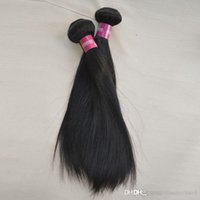 Bella Brand Hair No Tangle Unprocessed Weaving Silk Straight Malásia Hair with Double Drawn Strong Weft Bundle