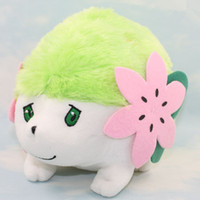 Wholesale Shaymin Plush - Cute Poke figures plush toys 15x20cm Shaymin Anime dolls
