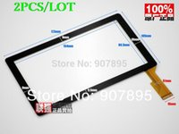 """Wholesale Q88 Winner - Wholesale- 2pcS DLW-CPT-009 7"""" capacitive touch screen digitizer panel for All winner A13 Q88 tablet pc 30pins on connector CZY6075E - Fpc"""