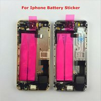 Wholesale Iphone 4s Full Kit - New Back housing with buttons Full chassis metal alloy cover battery door kit Replacement For iPhone 4 4S 5 5s 6 6s 6plus 6s Plus cell phone