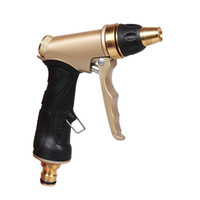 Wholesale High Pressure Nozzles - Wholesale- Car Wash Water Gun High Pressure Water Washer Spary Nozzle for Car Washing  Plant Watering  Deck or Sidewalk Cleaning