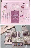 Wholesale Wholesale Halloween Makeup - KYLIE I WANT IT ALL The Birthday Collection Makeup Set Take Me On Vacation Eyeshadow Palette