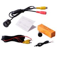 Wholesale Dvd Parking Sensor - PZ401 WaterProof IP67 Car Rear View Backup Mini Camera for Monitor Dash DVD Head Unit 18.5MM Hole Saw