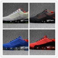 Wholesale Palms Art - Wholesale 2018 New VaporMax Men Running Shoes For Men Sneakers Fashion outdoor trainers Athletic Sports Shoe Full palm air cushion size7-13