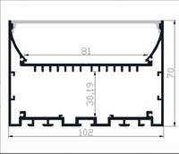 Wholesale furniture interiors - 2M PCS 10M LOT LED strip Aluminium profile LED aluminium profile for Interior accent lighting indoor light furniture light
