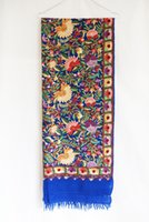 Wholesale Hand Made Shawl - Handicrafted hand embroidery Kashmir Pure cashmere scarves Soft and comfortable shawls Cashmere pashmina scarves Khaki Made in India