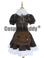Wholesale Alice Madness - Alice: Madness Returns Alice Party Dress Girls Steamdress Cosplay Costume