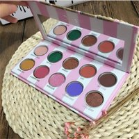 Wholesale Packing Pallet - Dose EyesCream Palette dose of Colors Glitter Eyeshadow Palettes Shimmer Eyeshadow pallet makeup eyeshadow palletes with retail packing