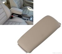 Wholesale console audi - Replacement Beige Leather Arm Rest Console Box Armrest Lid Cover Top For Audi A4 C5 A6 S4 2001-2006 Car Styling #P05