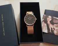 Wholesale Man Rhinestone Belt - 2017 Men Lovers Women's Watches Stainless Steel Mesh Belt Golden Fashion Wristwatch Rhinestone Quartz Female Clock Bracelet Reloje