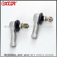 Wholesale Rod End Joint - Wholesale- Turn Joint Ball rod U-joint 12mm M12 Tie Rod End for ATV250 Hummer 250 LonCin Jianshe Shipao Spare Parts Accessories