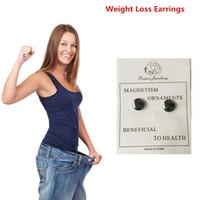 Wholesale Pair Magnetic Earring - 1 Pair Magnetic Weight Loss Earring Slimming Earrings