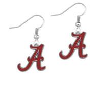 Wholesale Alabama Charms - Enamel University Of Alabama Crimson Tide Team Logo Charm Drop Earring Alloy NCAA Fans Earring Fashion Sport Earring Women Jewelry