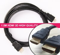 Wholesale 1 M High Quality FULL HD P Gold Plated High Speed D HDMI to HDMI FT Cable V For Computer TV LCD PS3 Audio Video Cable OD mm
