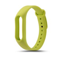 silikon tasche armband großhandel-Band 2 Handschlaufe Gürteletui Silikon Bunte Armband für Mi Band 2 Smart Armband für Xiaomi Band 2 Zubehör mit kostenlosem DHL