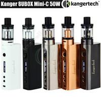 vape mod kbox großhandel-Top Kanger Subox Mini C Starter Kit