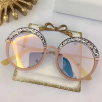 Wholesale Glass Chips - GOTHA Fashion Luxury Brand Designer Glasses Shiny Chip Plate Charm Frame Top Quality UV400 Lens Mirror Popular Glasse Removable With Box