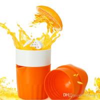 portakal suyu el ile sıkacağı toptan satış-1 adet Portakal Sıkacağı Plastik El Manuel Portakal Limon Suyu Basın Sıkacağı Meyve Sıkacağı Narenciye Sıkacağı Meyve Reamers