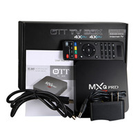 Wholesale Tv Hdmi Sale - Factory Sales Android 6.0 OTT MXQ Pro TV Box 4K KD 17.3 Rockchip RK3229 Fully Loaded Quad Core Streaming Media Player WiFi H.265 3D