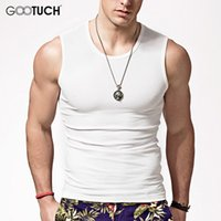 Wholesale Mens Sleeveless Tees - Wholesale- Mens Tank Top Boy Body Compression Base Layer Sleeveless Fashion Vest Thermal Under Tees Fitness Tights High Flexibility K 5068