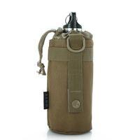 Wholesale Tactical Kettle - MOLLE System Water Bottle Kettle Packs Waist Bag Holder Waterproof Advance Ultra-light Range Tactical Gear Outdoor