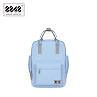 Wholesale Material Shopping Bags - Wholesale- 8848 Backpack Women Knapsack Casual Travel Shopping School BagPreppy Trenty Fashion Style Resistant Oxford Material 003-008-002