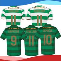 08b836b9c Soccer Short Polyester TOP That Quality 2017 2018 Celtic FC Home Soccer  Jersey 17 18 Celtic