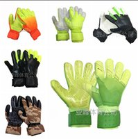 Wholesale Camouflage Gloves - SGT NK Logo Negative Cut Goalkeeper Gloves 2017 Newest camouflage Top Latex Soccer Football Gloves-latex Plam Goal Keeper Gloves