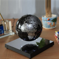spinning mirror - Electronic Rotating Globe inch Base with Mirror Ball Degree Spinning Round Ball school geography laboratory
