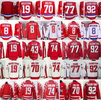 Wholesale Discounted Hockey Jerseys - Discount Washington Ice Hockey 8 Alex Ovechkin 77 T.J. Oshie 19 Nicklas Backstrom 70 Braden Holtby 92 Evgeny Kuznetsov Red White Jersey