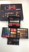 Profusion Makeup Sets Pro Elevation Kit Crema Lip Gloss Highlither Blush Eyeshadow Palette Con spazzole Spedizione DHL