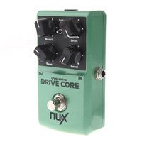 Wholesale Nux Drive - Mini NUX Drive Core Pedal Electric Effect Pedal Mixture of Boost and Overdrive Sound True Bypass Guitar Violao Parts
