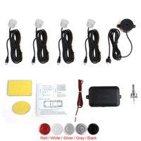 Wholesale Park Parking Assistant - Waterproof Car Parking Sensor System with Audible Alarm and 4 Sensors Buzzer Back Car Assistant CAL_242