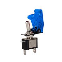 interruptor de 12v cubre al por mayor-2017 Nuevo Llega 1 UNIDS Color Azul 12 V 20A Cubierta Del Coche Auto LED Luz SPST Conmutador Rocker Interruptor de Control Encendido / Apagado Durable