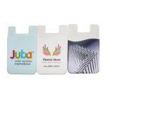 3m carteiras inteligentes venda por atacado-Carteira de telefone pegajosa 3M universal com logotipo personalizado, adesivo de silicone Titular de cartão de crédito de negócios, pal bolsa de silicone, carteira inteligente bolsa