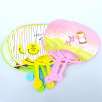 Wholesale Summer Cute Fan - High quality cartoon children fan cute plastic fan for crafts men and women cool summer fan various types