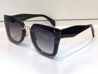 Wholesale Bling Eyes - new fashion women brand designer sunglass SMU04R cat eye sunglass crystal frame with bling sunglass big fashion frame with pink case