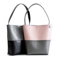 Wholesale Handmade Lady Bags - Real Leather Tote Bag Women Cow Leather Top Handle Shopper Bags Large Handle Ladies Shoulder Bags Handmade Original